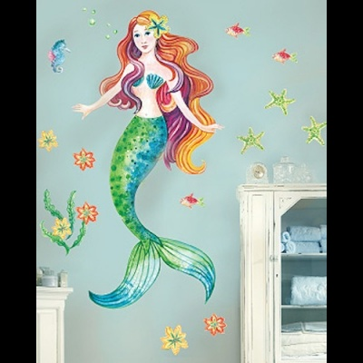 W10142 Giant sticker mermaid τιμή απο 115€ --> 49€
