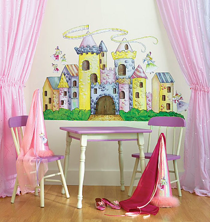 W10143 Giant stickers princess castle τιμή απο 115€ --> 45€