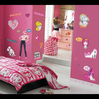 Barbie Room Set Stickers Τιμή:45€